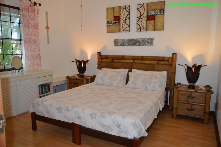Sea-view Apartment - Bedroom