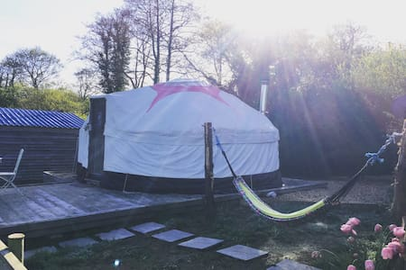 Charming yurt for two romantics