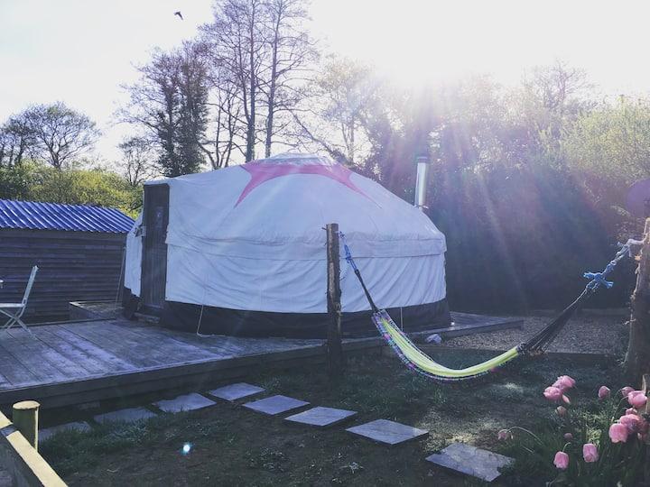 Charming yurt for two romantics