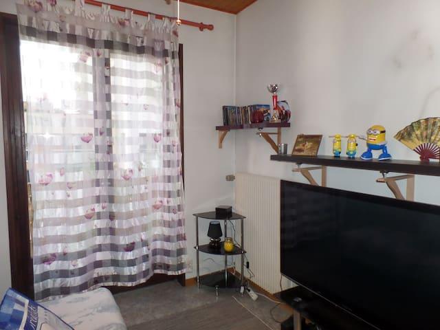Appartement convivial,chaleureux et bien placé