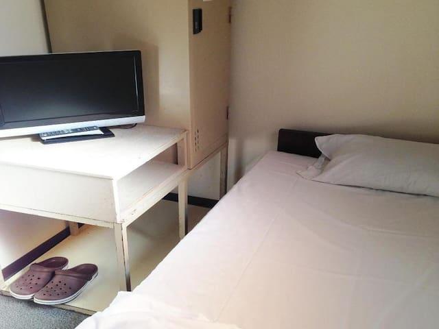 10min->Minami-Senju Sta/Standard Single Room+Wi-Fi