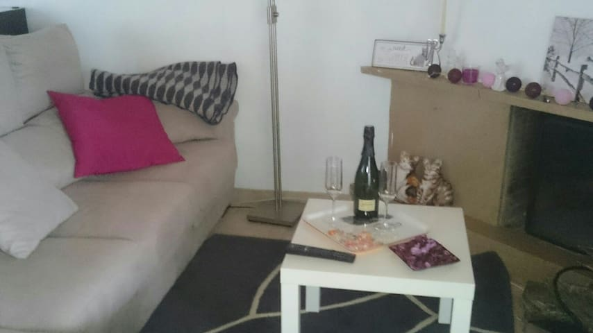 Charm loft at 30 minutes  of Barcelona city - Terrassa - Lägenhet