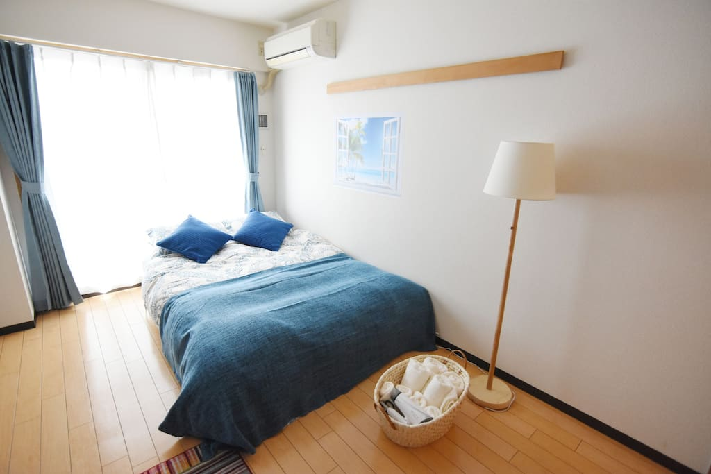 Simple and comfortable room for max. 3 ppl.