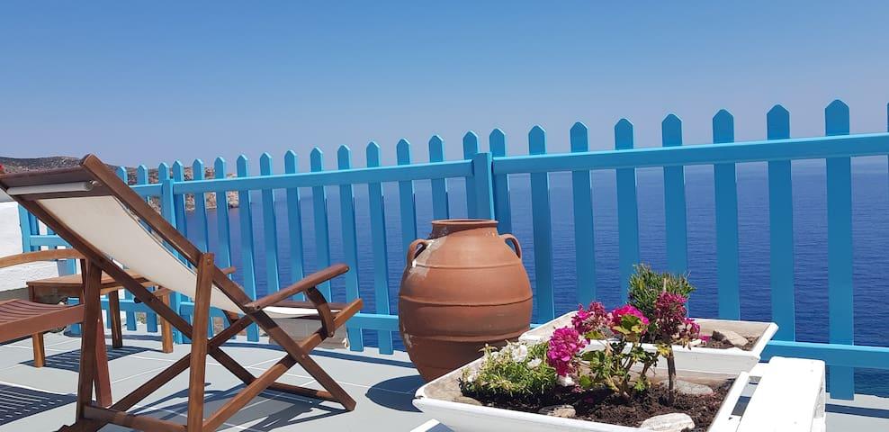 Aegean Eye Double Premium Studio Amazing Sea View