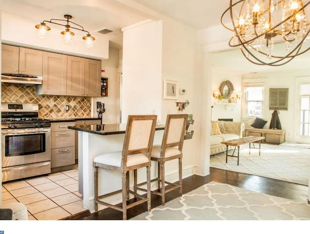 Elegant 3 bed 1.5 bath in best of Philly suburbs