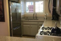 This kitchen has all new appliances and everything you need to make a wonderful meal.