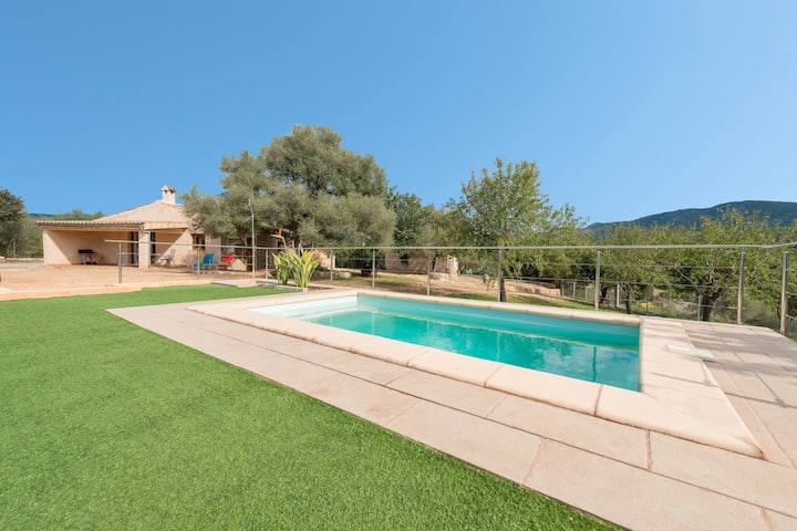 Sa Plana (Villa Calvia) -Finca con piscina privada