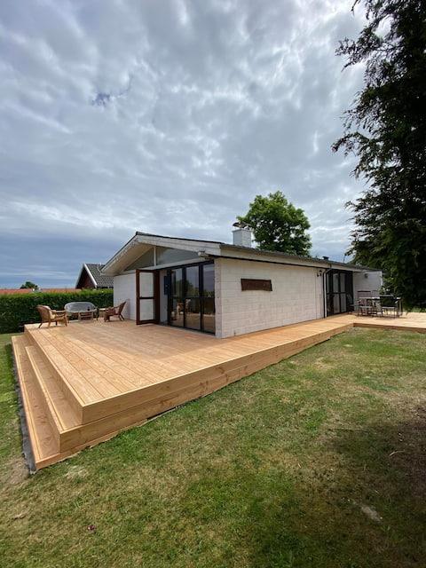 Schönes Ferienhaus auf Nordbornholm