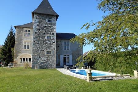 Le Bastion Labbadie Abbaye Laïque du XIVéme siècle - Saint-Abit