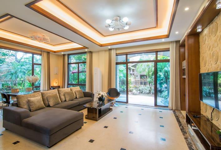 惠州十里银滩•浅水湾1号别墅|4房4床 - Huizhou - Vila