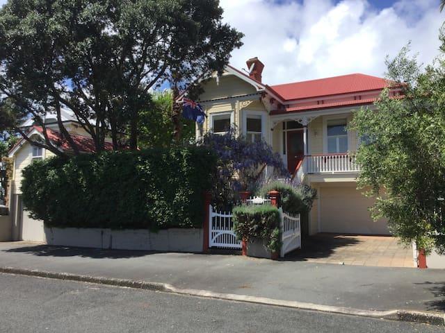 A Beautiful Edwardian Villa - Auckland - Haus