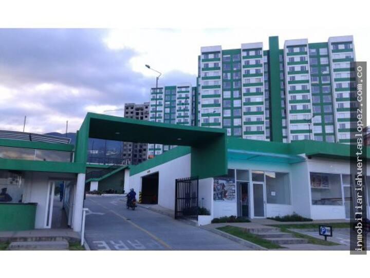Apartamento en prado verde
