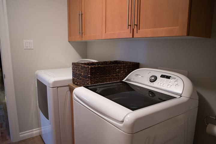 Laundry | top load washer . dryer
