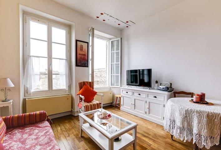 Bel appartement atypique et confortable