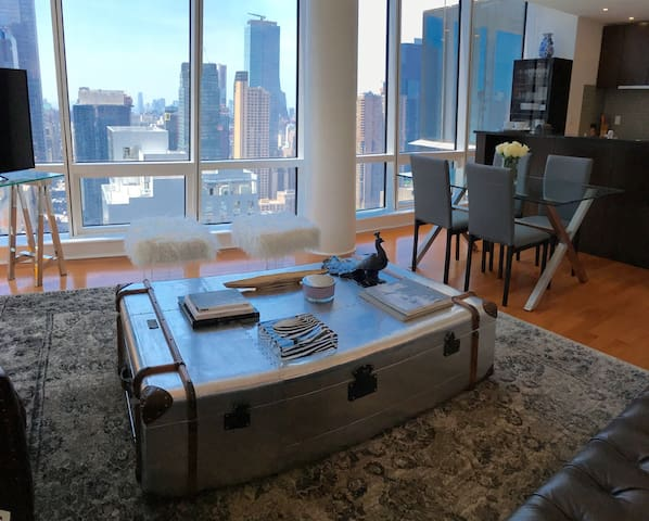 2 Bedroom, View Over Times Square & Central Park - New York - Apartemen