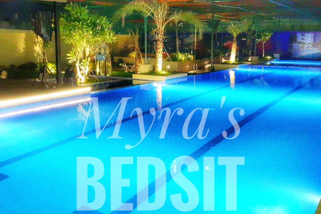 Relax and have yourself enjoy lounging on our pool located @ 9th floor.