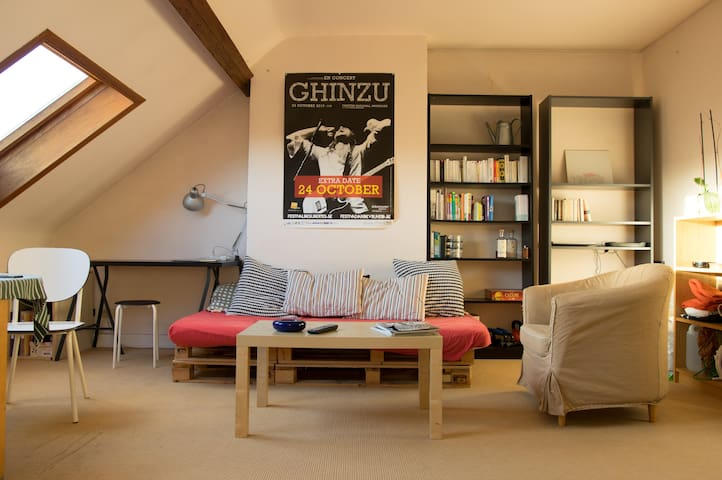 Cosy room in Brussels - Saint-Gilles - Pis