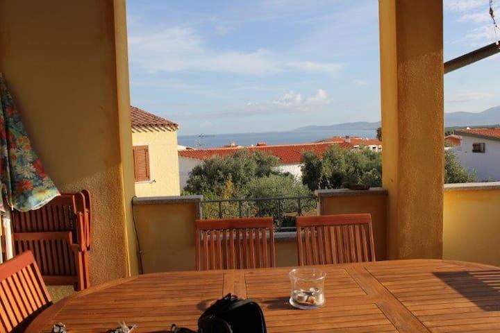 Tranquillitá e Vista Mare Sardegna - La Ciaccia - Apartament