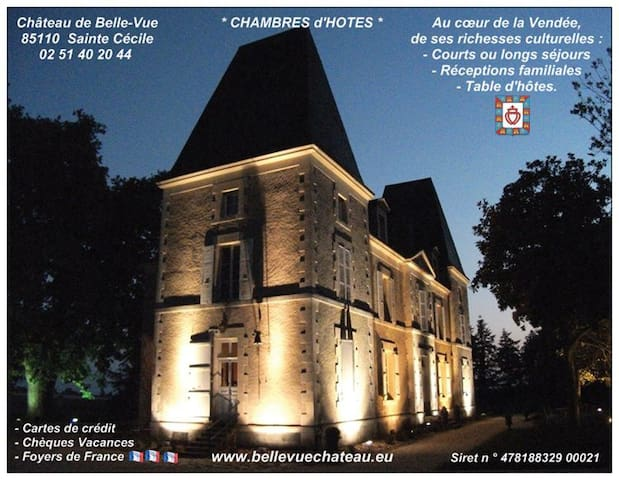 Puy du Fou, Appartement au château