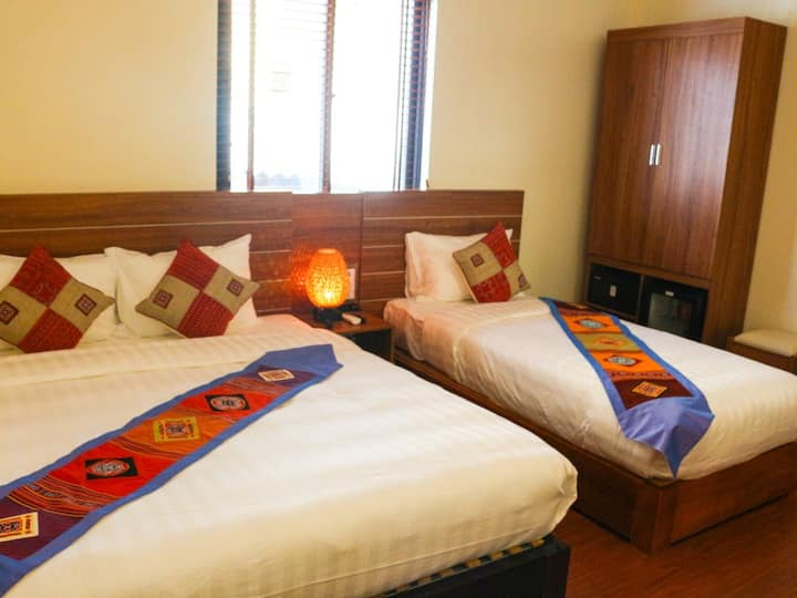 Superior Twin%2FDouble Room - Sapa Garden Hotel