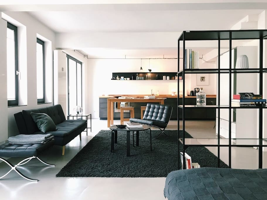 appartment mit loft charakter im trendy unterbilk wohnungen zur miete in d sseldorf nordrhein. Black Bedroom Furniture Sets. Home Design Ideas