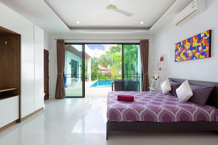 私人泳池⚜时尚设计⚜屋顶平台(Villa Nirvana)