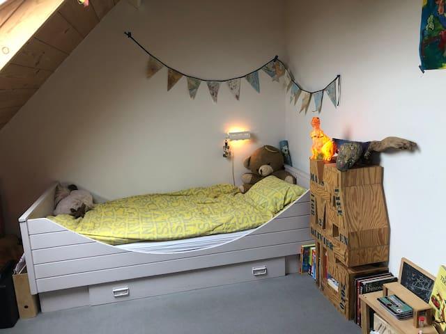 Duo slaapkamer kinderen tweede verdieping