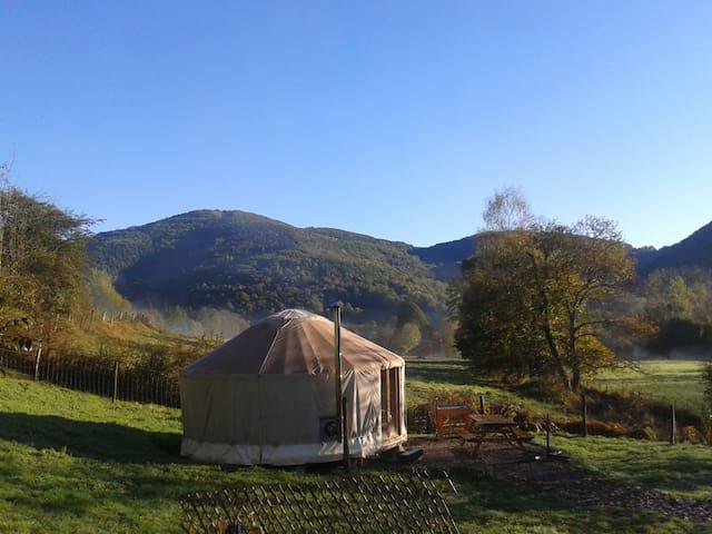 Yourte à la Ferme d'Oulan Bât - Arbas - Yurt