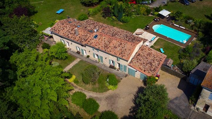 Gîte La Maison de la Pimpine Lignan-de-Bordeaux
