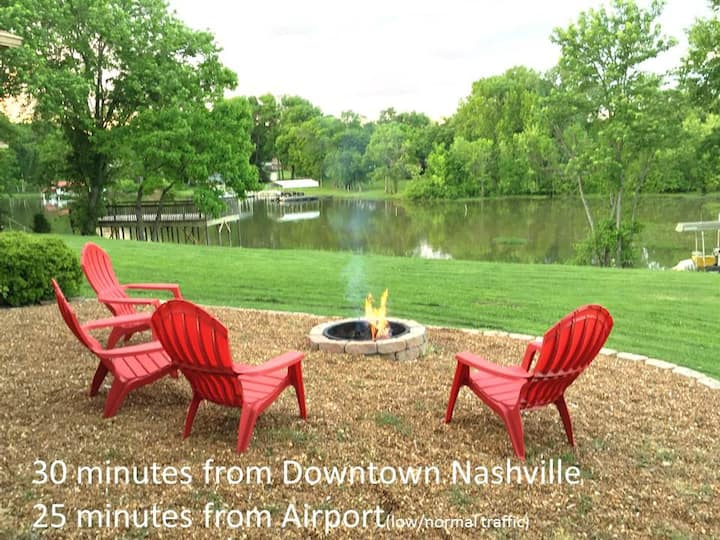Family Friendly Lake House w/ Dock near Nashville