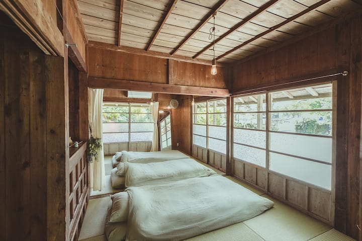 Cozy Kominka in Nago city! 【Kouri Island】