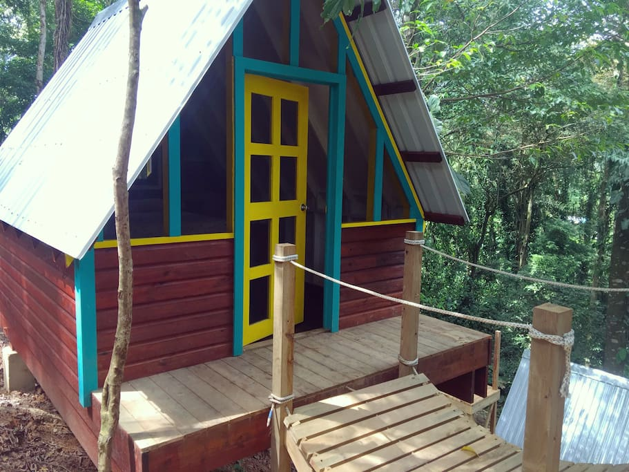 Welcome to your private cabin.