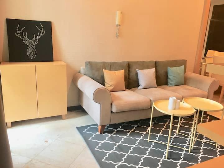 1 BR Bellagio Residence Mega Kuningan + Netflix!