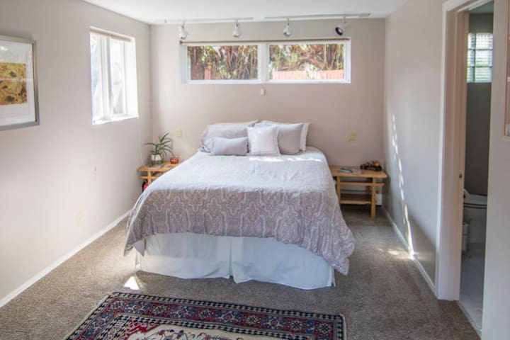 Comfy, Quiet, Downtown Garden Suite!