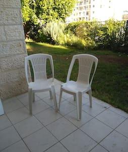 Garden apartment-