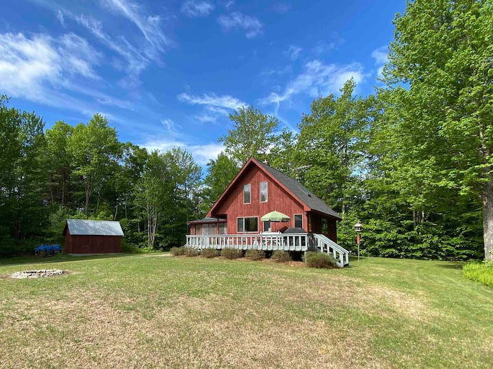 Private getaway on 10 acres in Middlebury VT