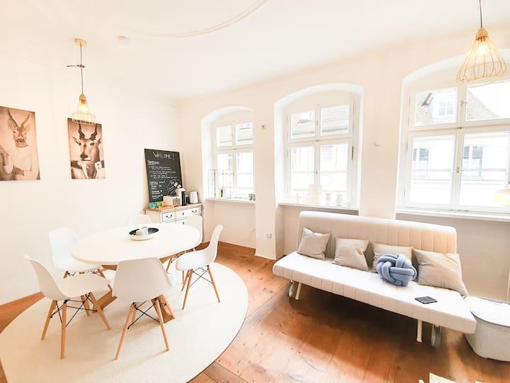 Süßes Altbauhäuschen in der Bamberger Innenstadt