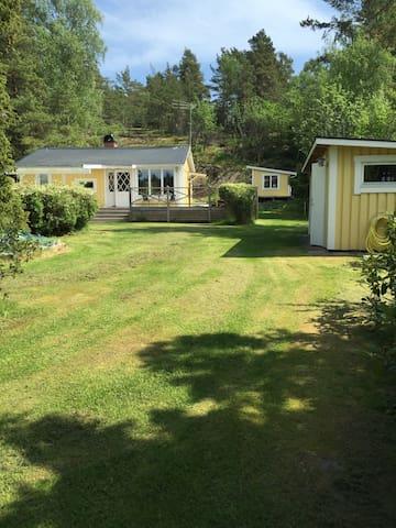 Sommaridyll i skärgårdsmiljö - Haninge S - 통나무집