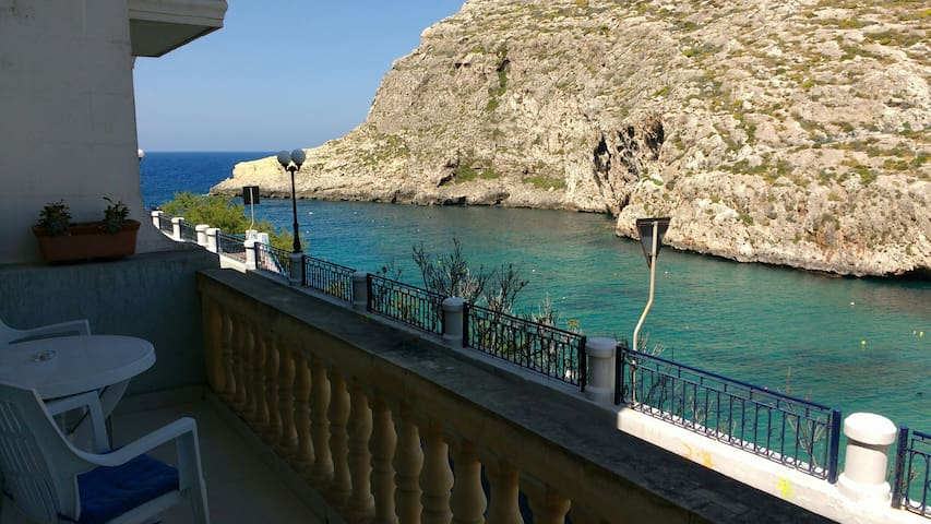 2 bedroom sea view apartment - Xlendi - Daire