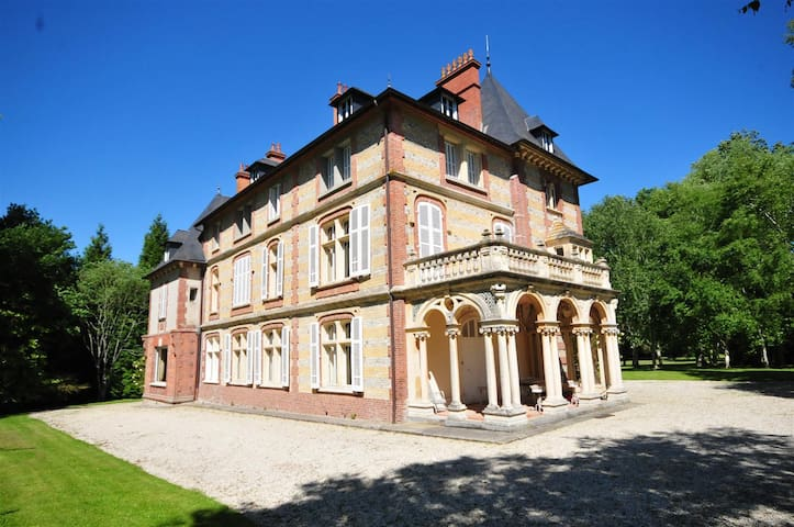 Château à 8 min Cabourg - Chambre 2