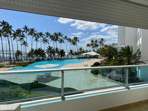 Beachfront Apartment  Marbella Towers Juan Dolio