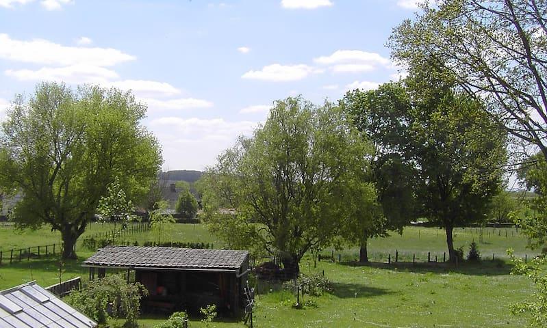 Kamer met zicht op het Zuid-Limburgse Heuvelland