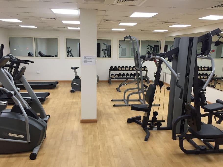 Full access to gym