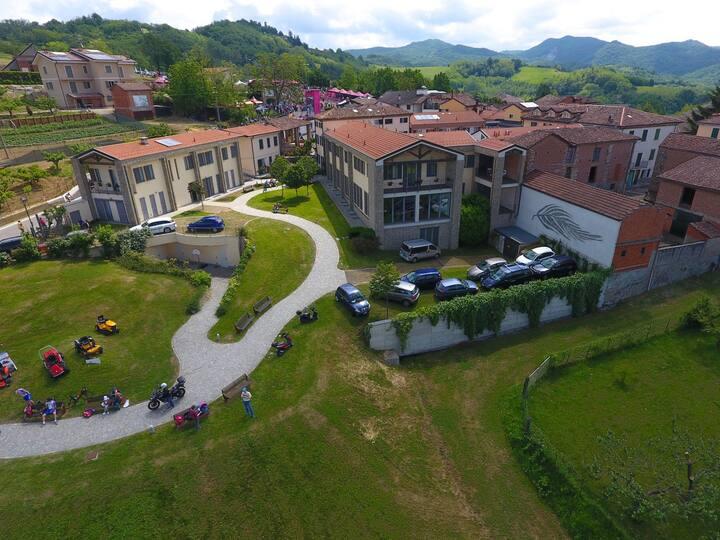 Borgo di Castellania. Sulle strade di Fausto Coppi