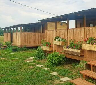 Гостевые домики в  экологически чистом районе МО.