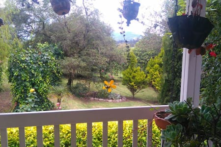 Casa privada campestre - La Calera - Rumah tumpangan alam semula jadi