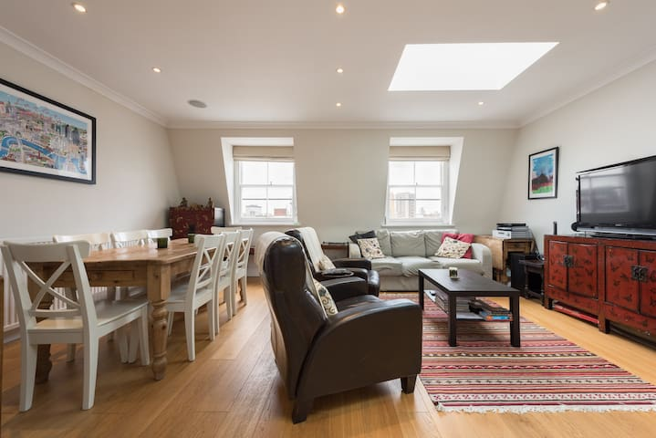 Penthouse Flat in Pimlico with stunning views - London - Lägenhet