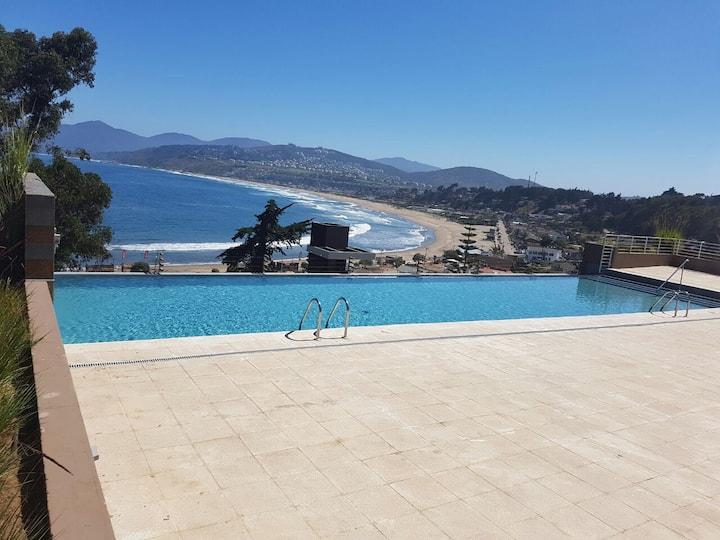 Departamento Playa Abanico con playa privada