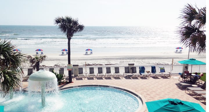 OCEANFRONT 1 BED. APT/RESORT DAYTONA/ORMOND BEACH