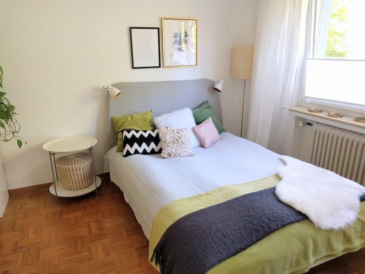 Sehr ruhige kleine Wohnung - zentral und gemütlich